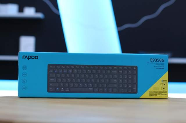 简洁就是美:雷柏E9350G超薄无线键盘体验