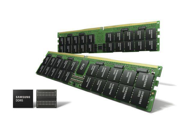 三星宣布 14 纳米 EUV DDR5 DRAM 正式量产