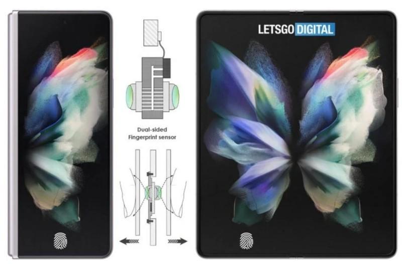 三星专利暗示 Galaxy Z Fold 4 折叠屏将采用双面屏幕内指纹识别