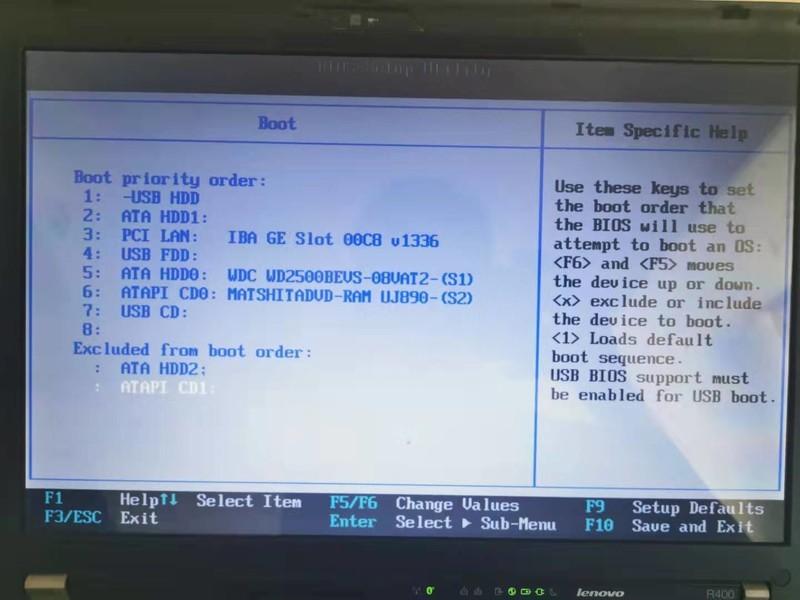 [ThinkPad r400] 还原出厂系统失败后无法开机,有没有大神帮忙看下