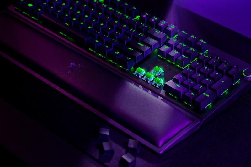 #超级众测节#无线三叉戟 雷蛇黑寡妇蜘蛛V3无线版机械键盘免费试用