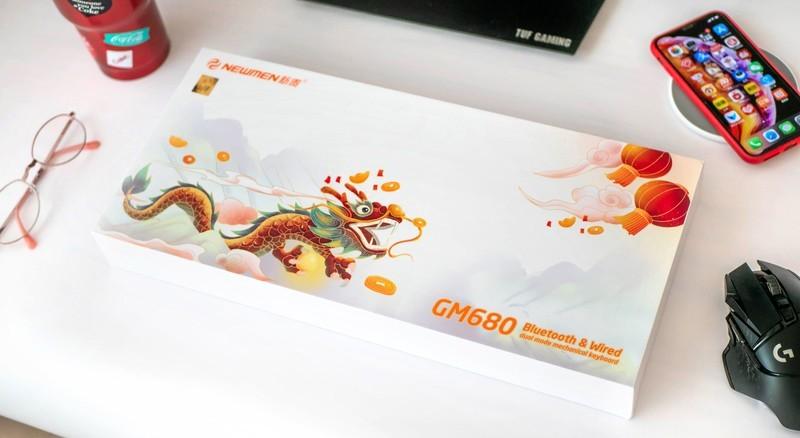 浓情国风,颜值爆表:新贵GM680双模机械键盘体验